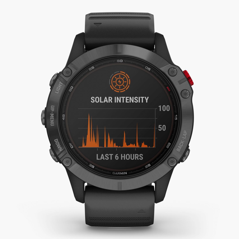 Garmin Fenix 6 Pro Solar - Negro - Reloj Deportivo