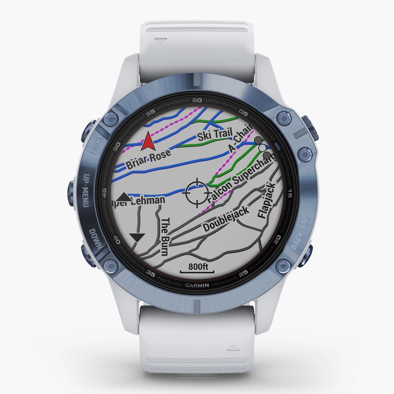 Garmin Fenix 6 Pro Solar - Azul - Reloj Deportivo