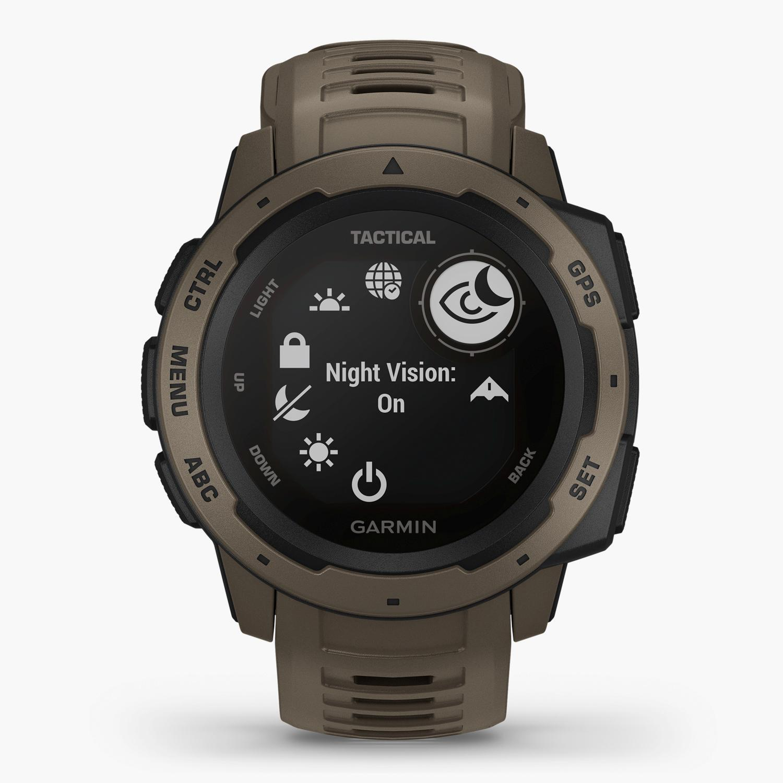 Garmin Instinct Tactical - Marrón - Reloj Deportivo