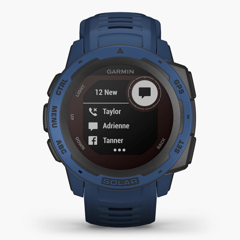 Garmin Instinct Solar - Azul - Reloj Deportivo