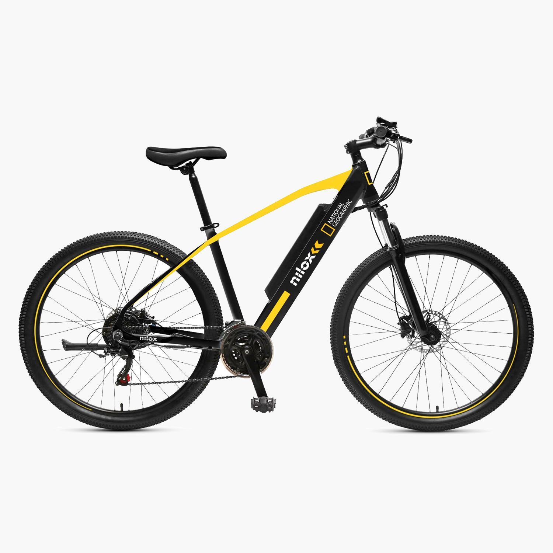 NILOX - Bicicleta Elétrica X6 NG - Preto - E-bike tamanho T.U.