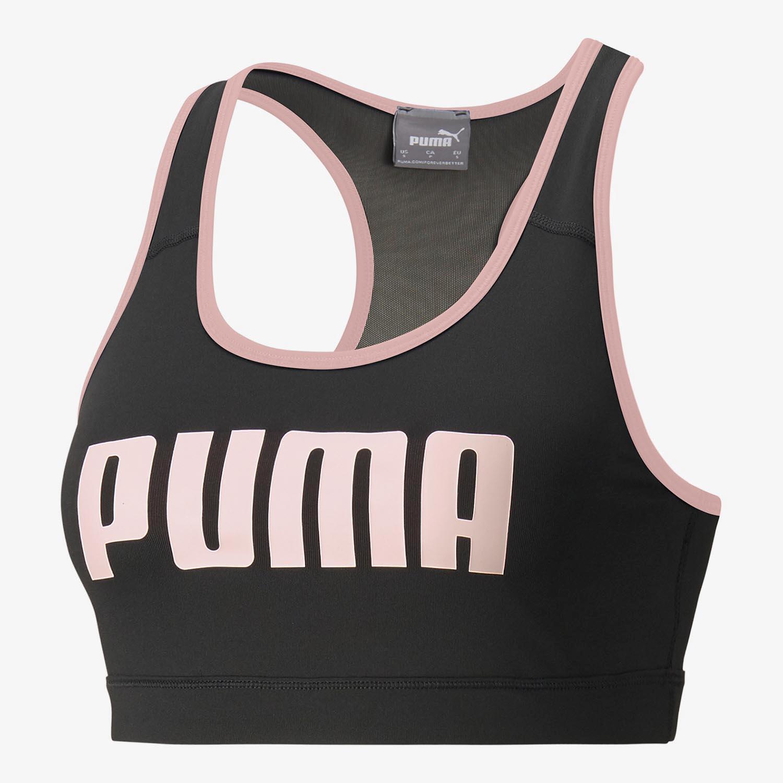 Puma 4 Keeps Negro - Sujetador Deportivo