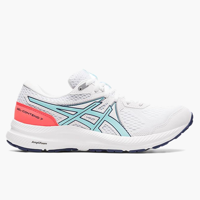 Asics Gel-Contend 7 - Blancas - Zapatillas Running Mujer