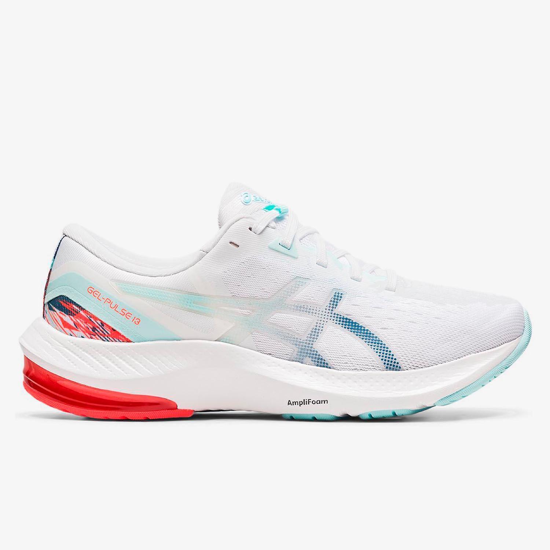 Asics Gel-Pulse 13 - Blancas - Zapatillas Running Mujer