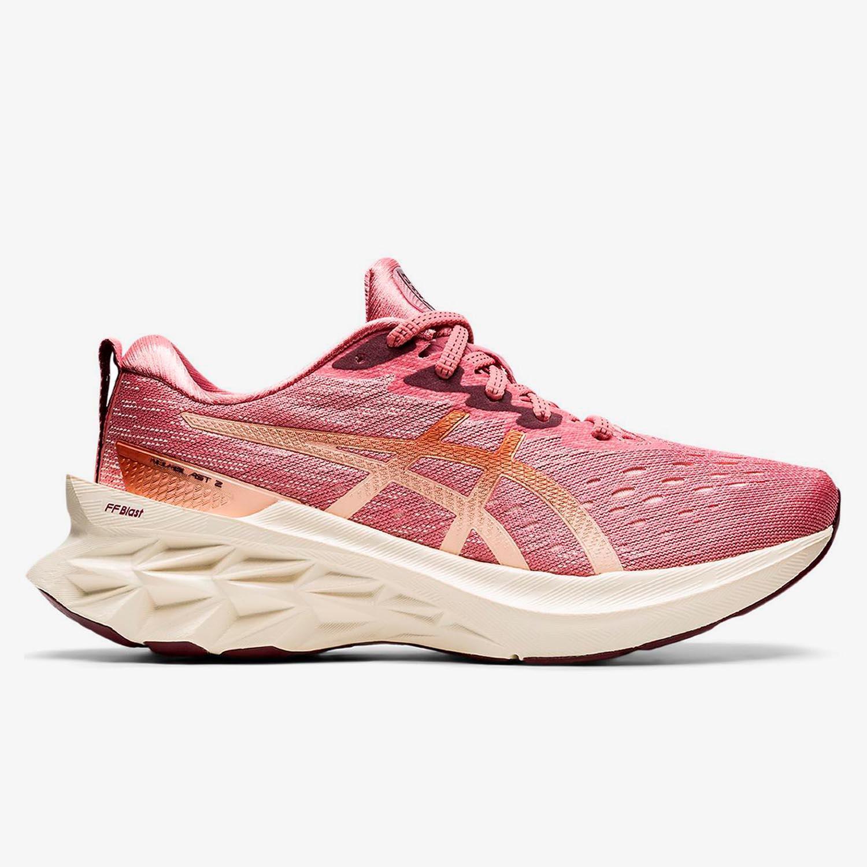 Asics Novablast 2 - Teja - Zapatillas Running Mujer