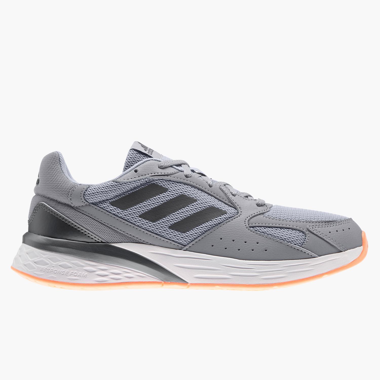 adidas Response Run - Gris - Zapatillas Running Hombre