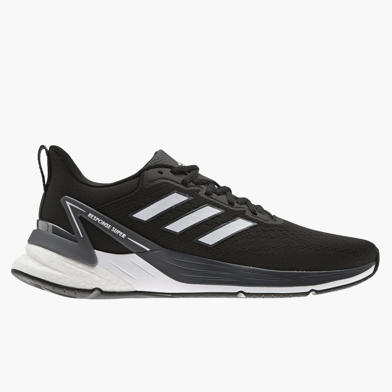 adidas Response Super 2.0 - Negras - Zapatillas Running Hombre
