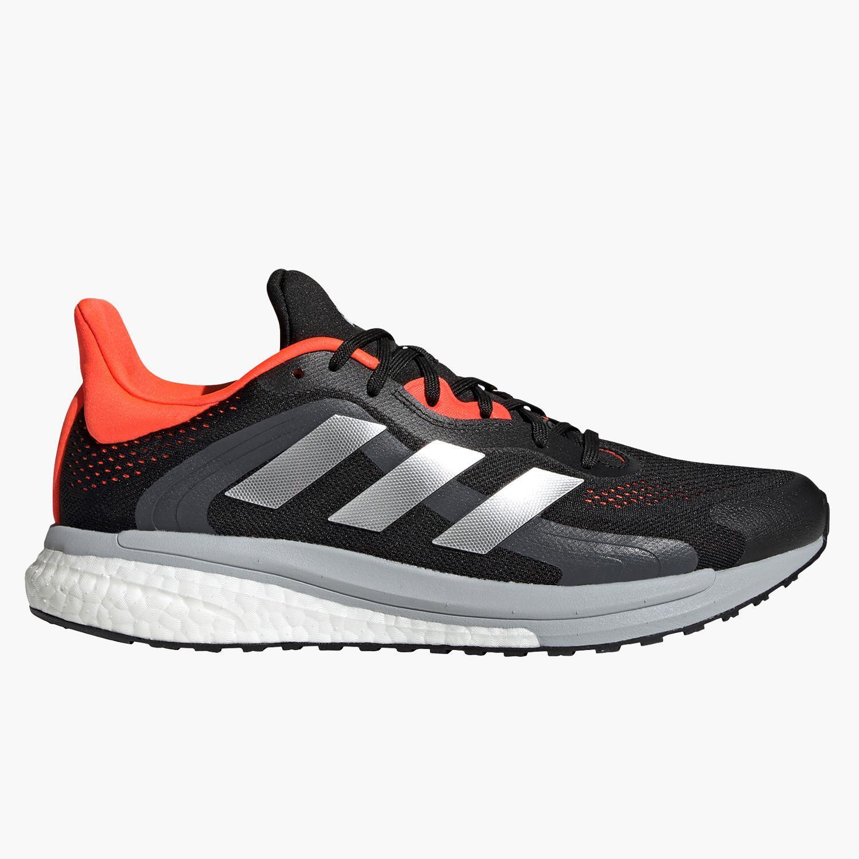 adidas Solar Glide 4 ST - Negro - Zapatillas Running Hombre