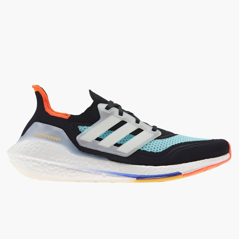 adidas Ultraboost 21 - Negro - Zapatillas Running Hombre