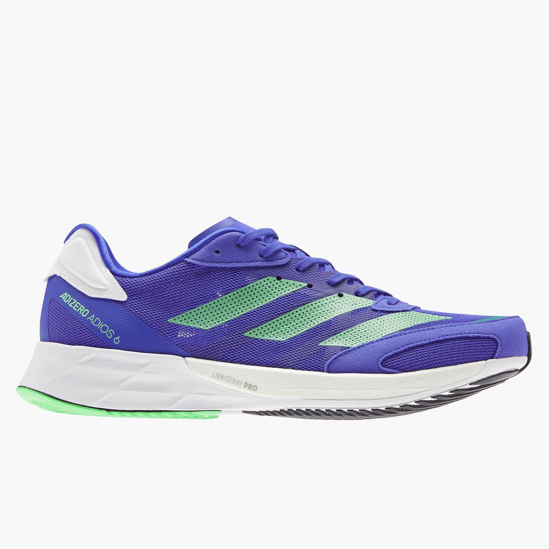 adidas Adizero Adios 6 - Azul - Zapatillas Running Hombre