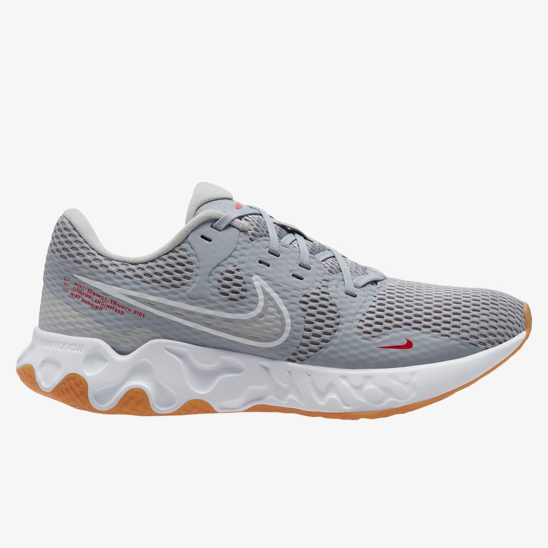 Nike Renew Ride 2 - Gris - Zapatillas Running Hombre