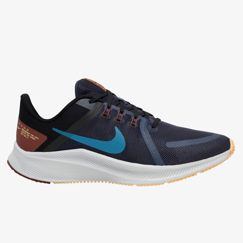 Nike Quest 4 - Marino - Zapatillas Running Hombre