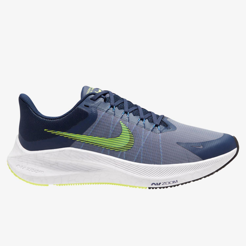 Nike Winflo 8 - Marino - Zapatillas Running Hombre