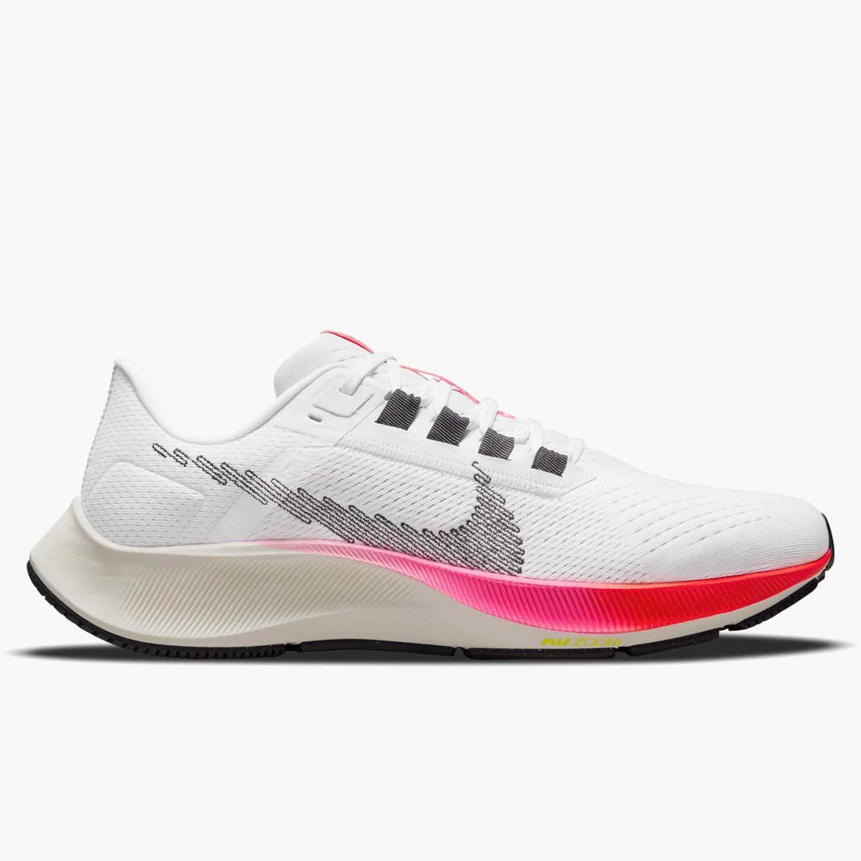 Nike Air Zoom Pegasus 38t - Blanco - Zapatillas Running Hombre
