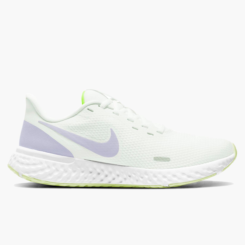Nike Revolution 5 - Blancas - Zapatillas Running Mujer