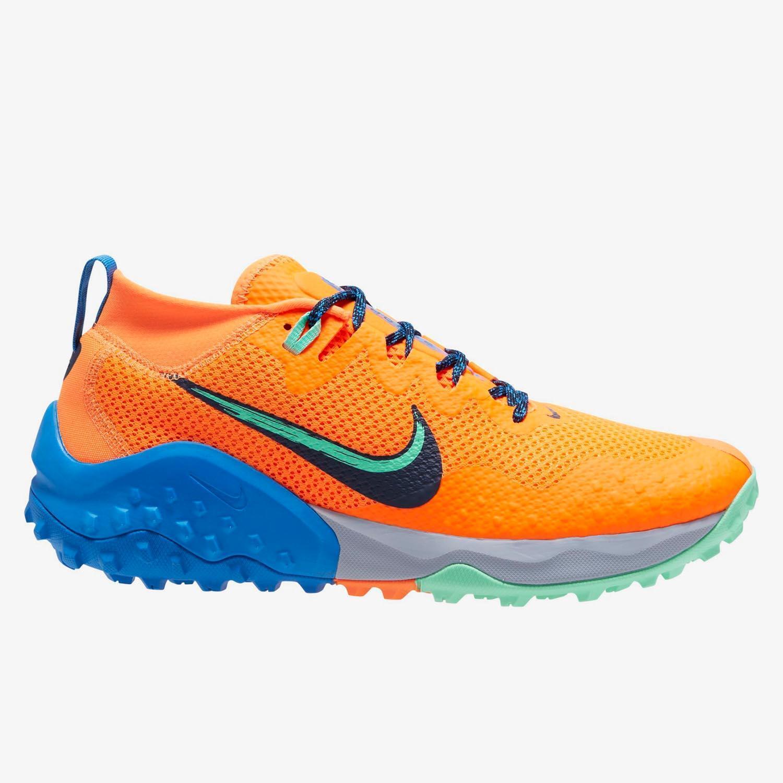 Nike Wildhorse 7 - Naranja - Zapatillas Trail Hombre