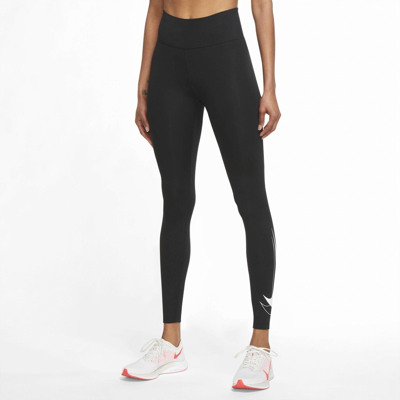 Nike Performance - Negro - Mallas Running Mujer