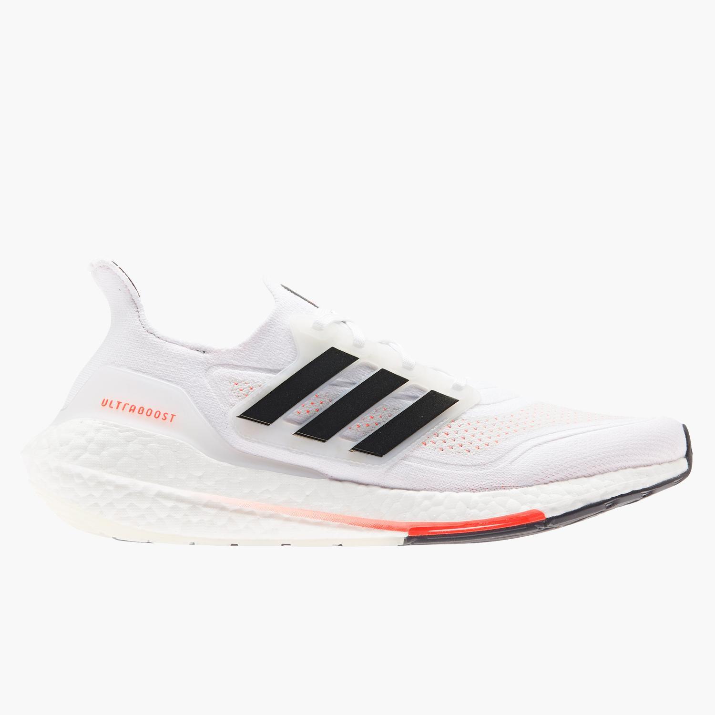 adidas Ultraboost 21 - Blancas - Zapatillas Running Hombre