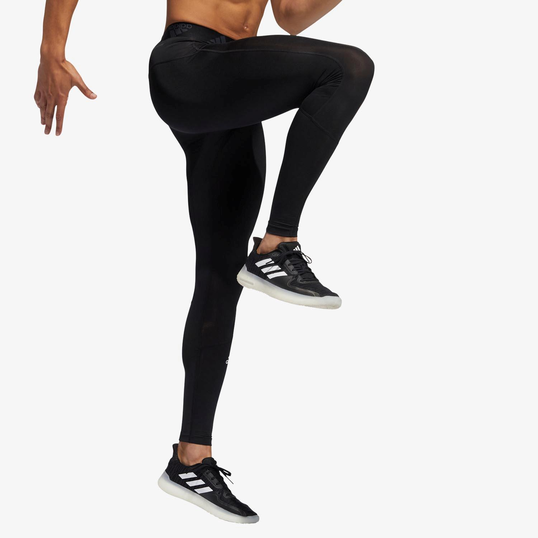 adidas Techfit - Negro - Mallas Running Hombre