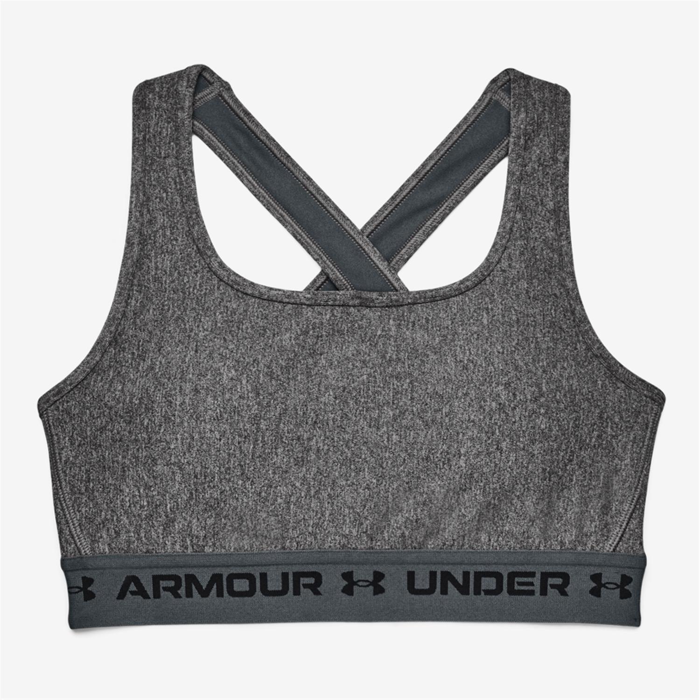 Under Armour Crossback - Negro - Sujetador Deportivo