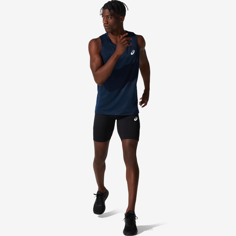 Asics Core Sprinter - Negras - Mallas Running Hombre