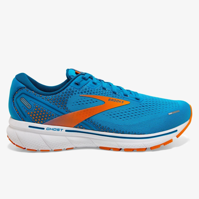 Brooks Ghost 14 - Azul - Zapatillas Running Hombre