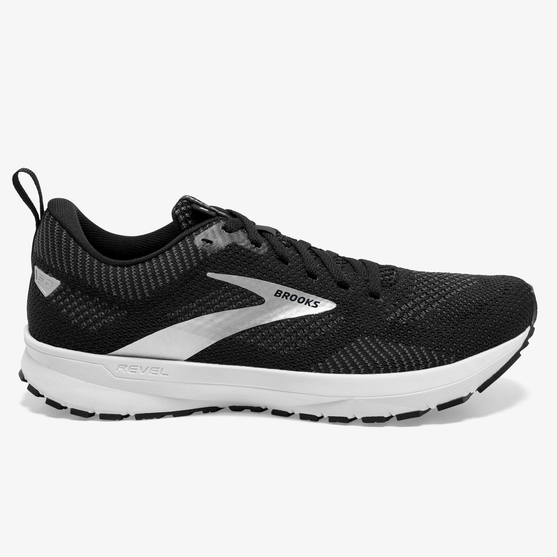 Brooks Revel 5 - Negro - Zapatillas Running Mujer