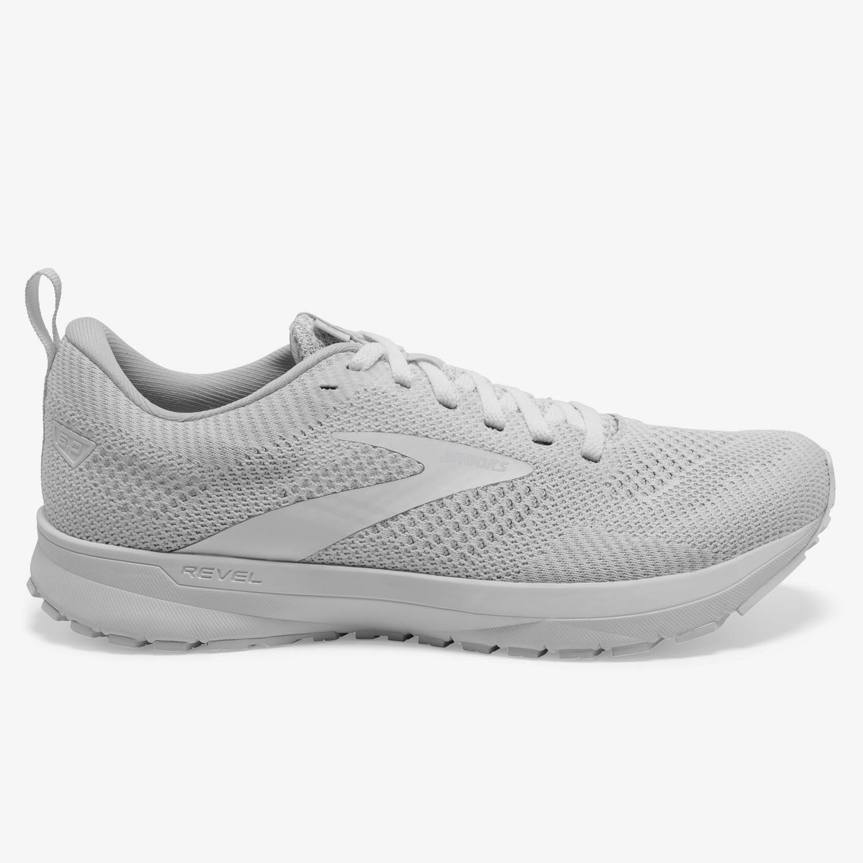 Brooks Revel 5 - Blanco - Zapatillas Running Mujer