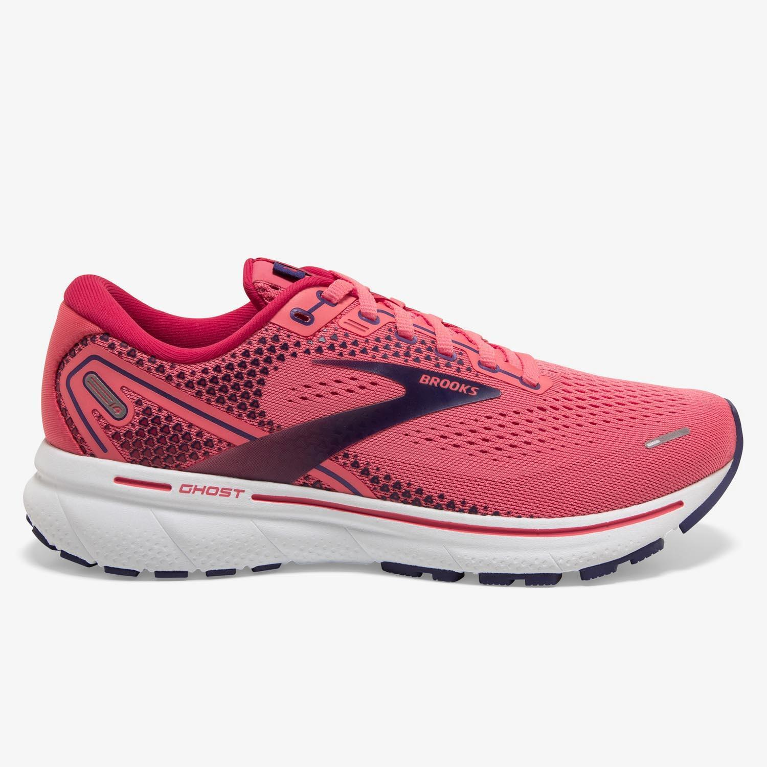 Brooks Ghost 14 - Coral - Zapatillas Running Mujer
