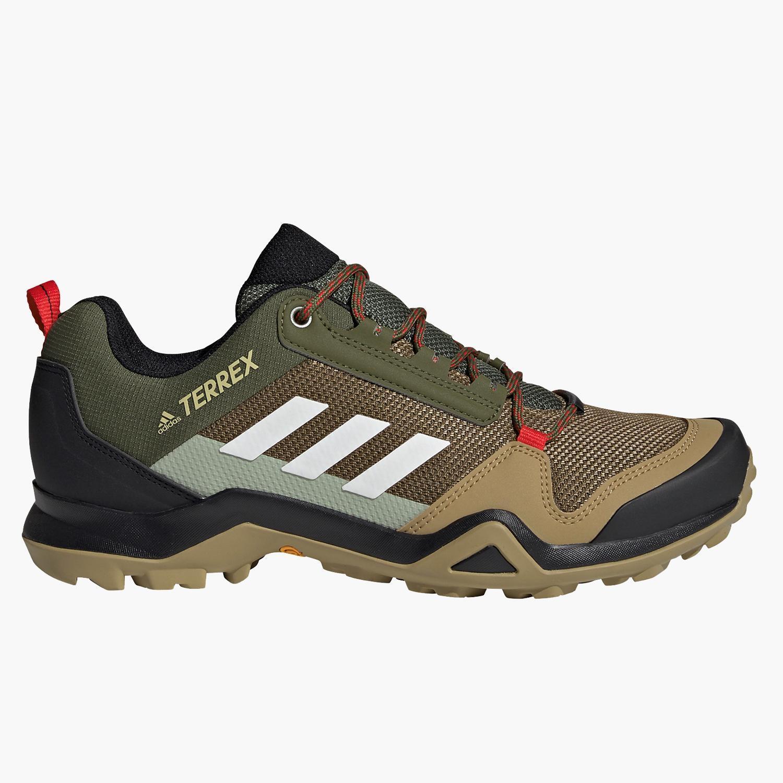 adidas Terrex Ax3 - KAKI - Zapatillas Montaña Hombre
