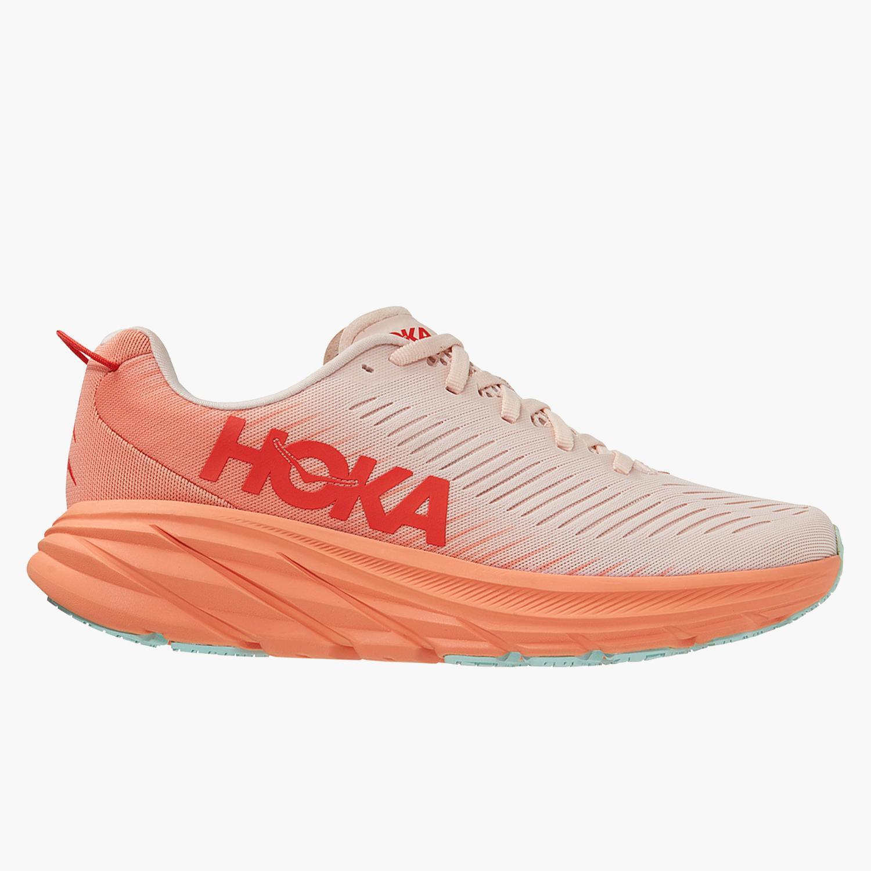Hoka Rincon 3 - Naranja - Zapatillas Running Mujer