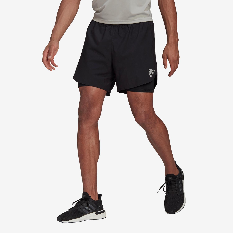 adidas Two In One - Negro - Pantalón Running Mujer