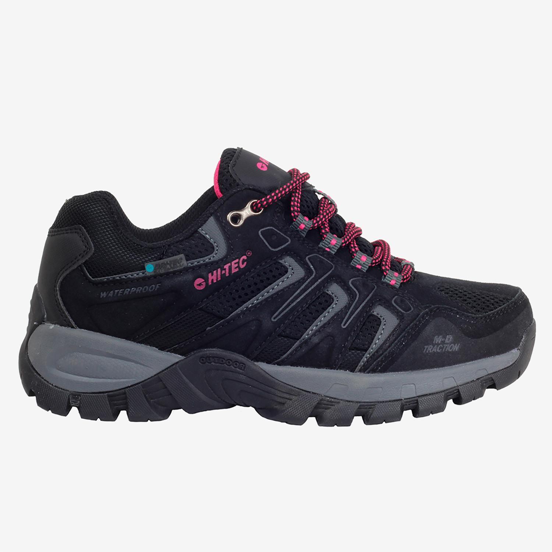 Hi Tec Torca - Negro - Zapatillas Trekking Mujer