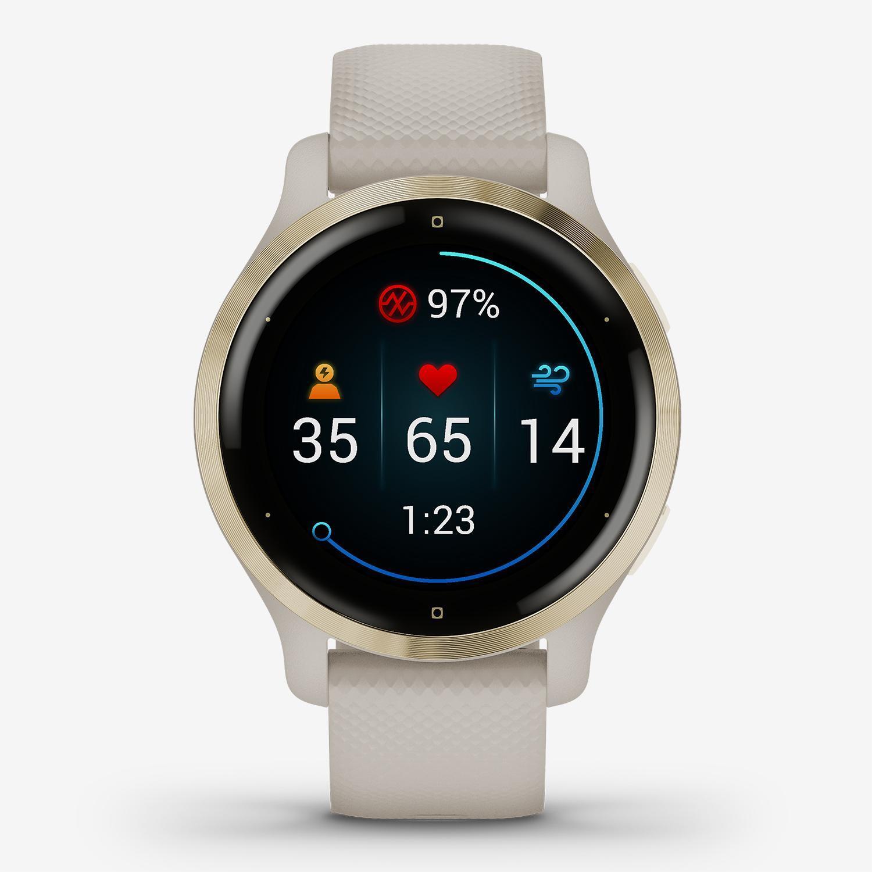 Garmin Venu 2S - Dorado - Smartwatch