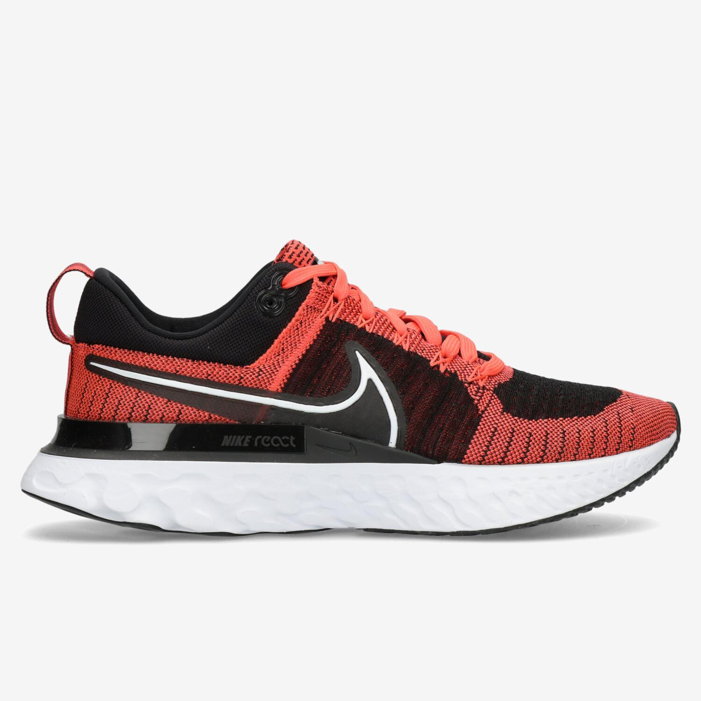 Nike React Infinity Run Flyknit 2 - Rojo - Zapatillas Running Hombre