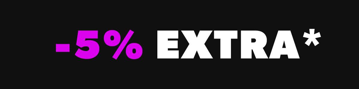 -5% Extra